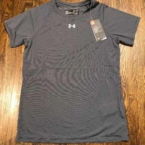 Under Armour Microstripe Locker Tech Tee Sz Small